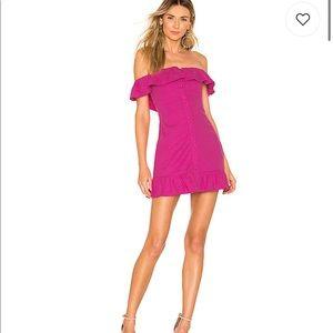 Revolve lovers + friends elsie mini dress